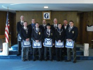 The 2013 Officers of Nebraska Lodge #1