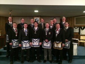 The 2014 Officers of Nebraska Lodge #1