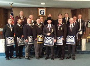 The 2015 Officers of Nebraska Lodge #1