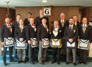 The 2016 Officers of Nebraska Lodge #1