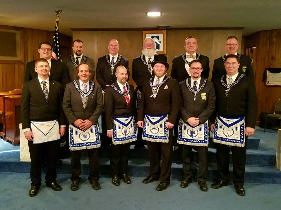 2017 Officers of Nebraska Lodge #1