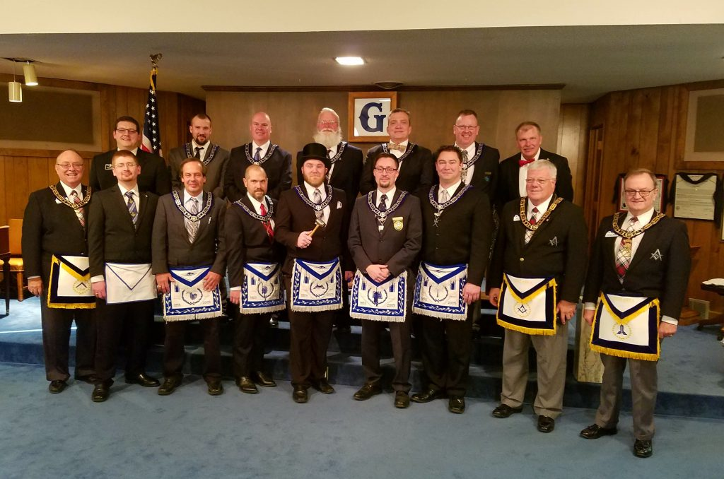 The 2017 Officers of Nebraska Lodge #1